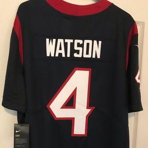 Deshaun Watson Nike Texans Jersey with tags, XL